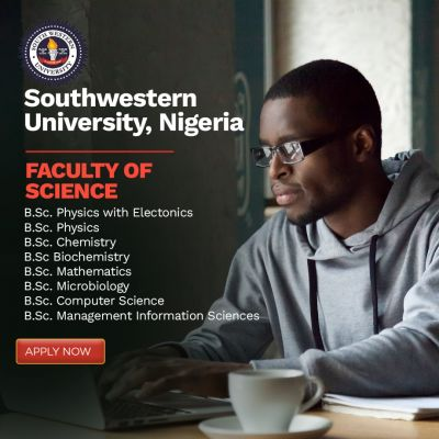 ADMISSION FOR THE 2021 AND 2022 SESSION AT THE SOUTHWESTERN UNIVERSITY , NIGERIA