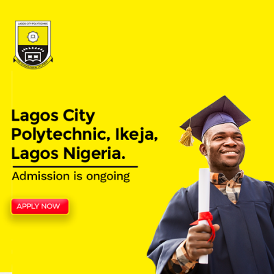 ADMISSION INTO THE 2021 AND 2022 SESSION OF THE LAGOS CITY POLYTECHNIC , IKEJA LAGOS NIGERIA